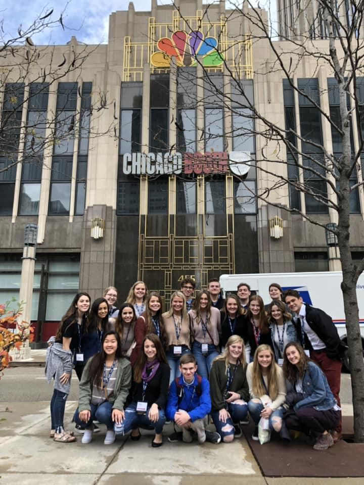 More+Millard+students+in+Chicago.